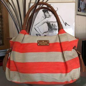 Kate Spade New York Striped Tote  Bag